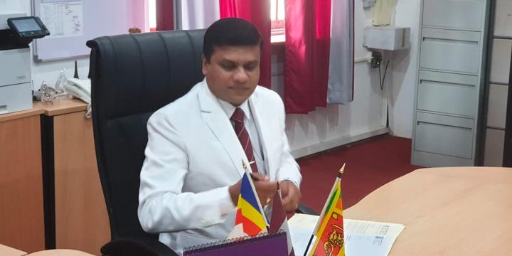 Mr. Thilak Wattuhewa has been appointed as the Principal.